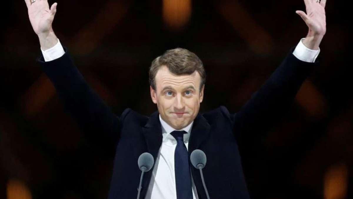 New French President Emmanual Macron