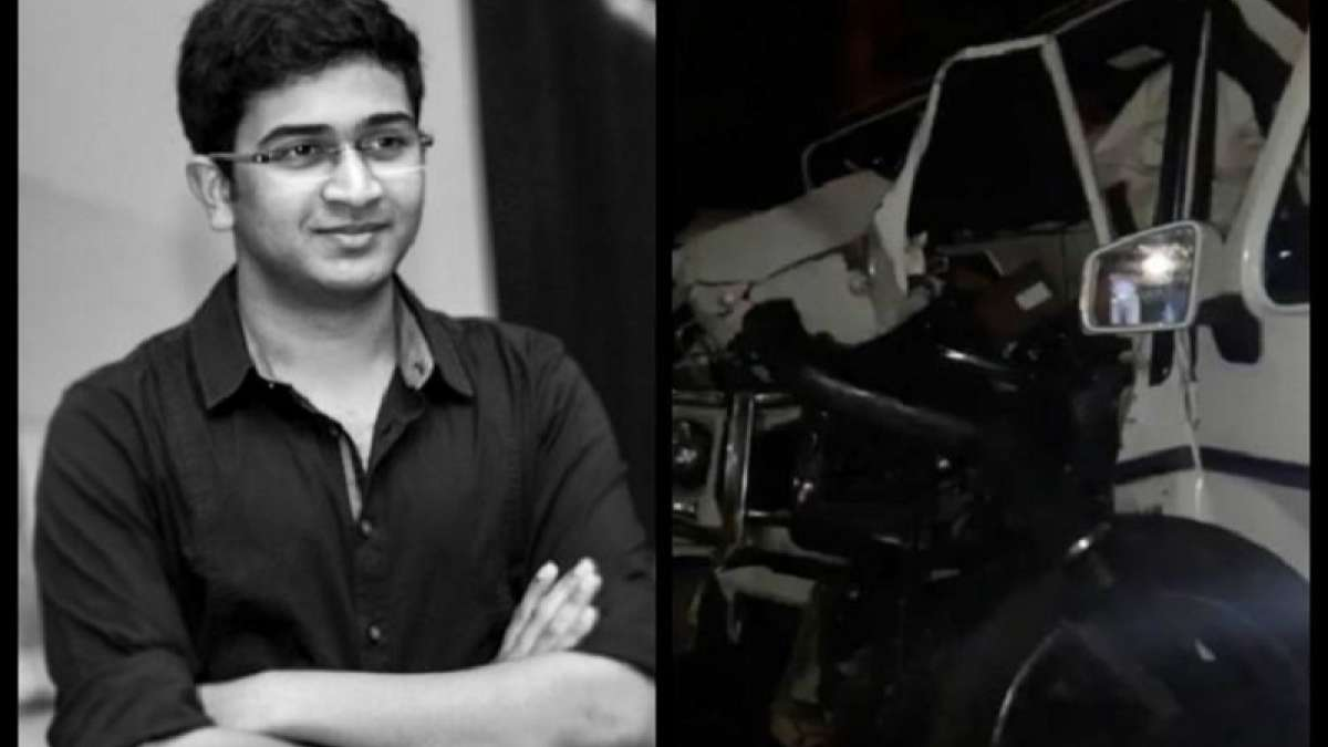 Son of a Cabinet Minister of Andhra Pradesh died in a road accident in Hyderabad