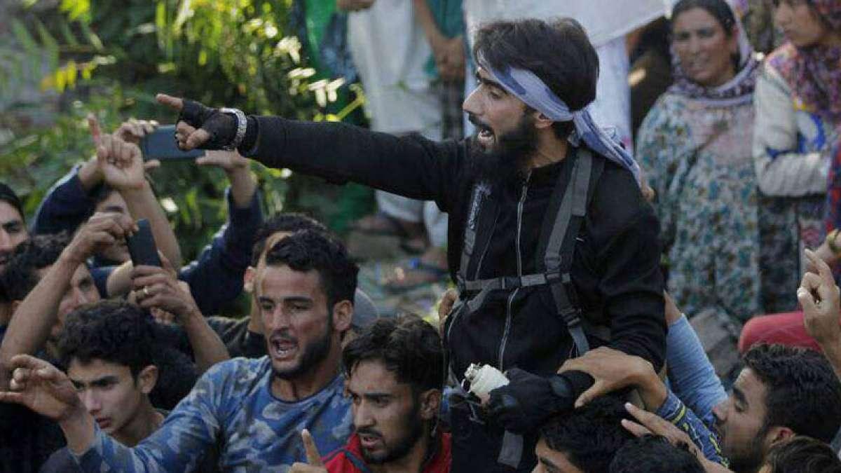 Hizb-ul-Mujahideen terrorist Danish Ahmed surrenders in J&K