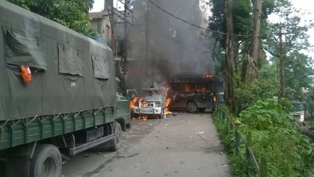 Army deployed in Darjeeling as Gorkha Janmukti Morcha protest turns violent