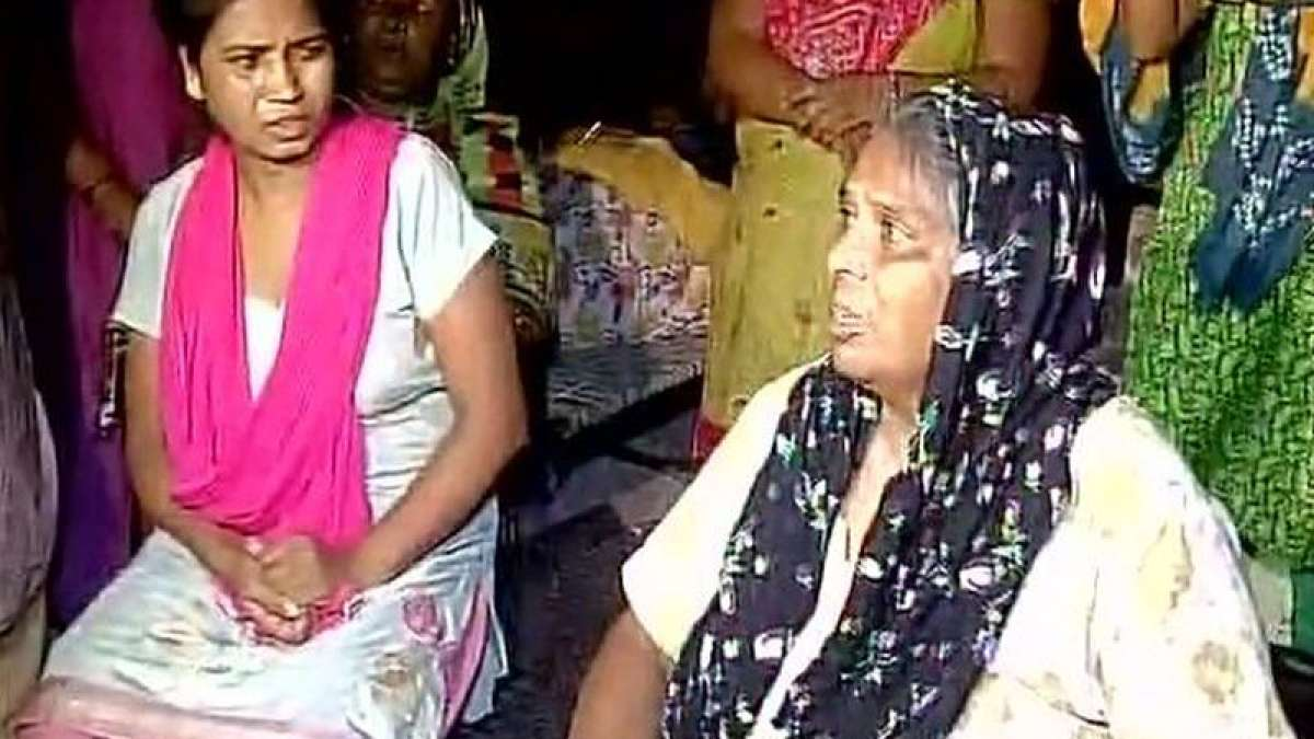 I begged everyone, but no one helped my son: Heart-broken mother (Photo Credit: ANI Twitter)