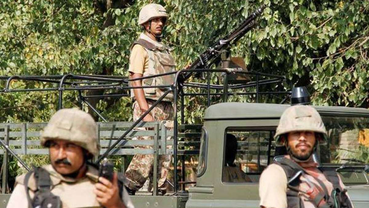 Heavy exchange of bullets, shells across LoC in Jammu