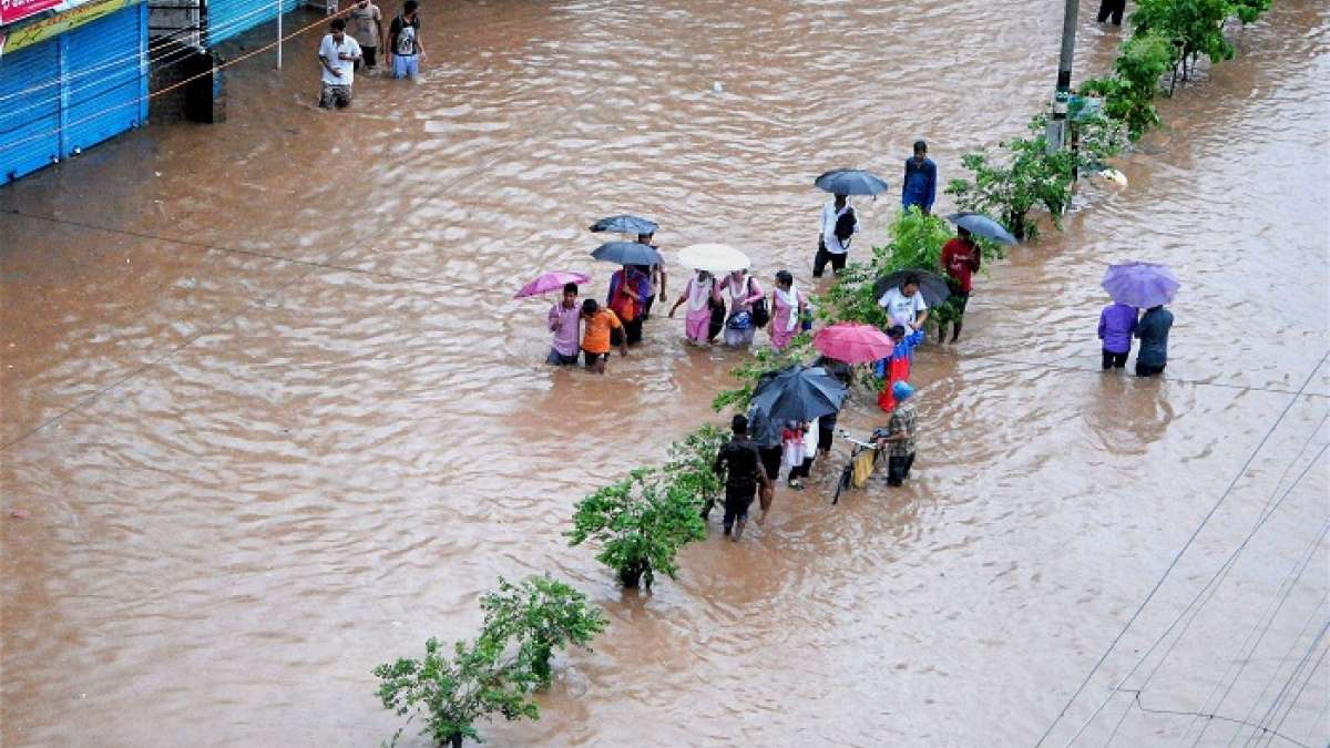 One person died in Assam rains