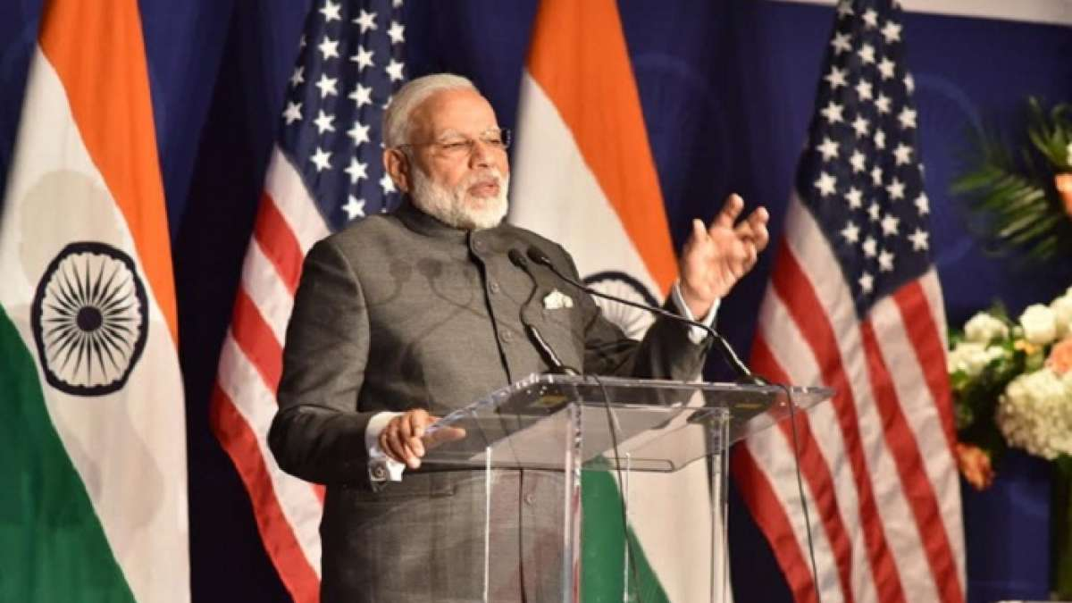 Narendra Modi lauded External Affairs Minister Sushma Swaraj for her pro-active actions