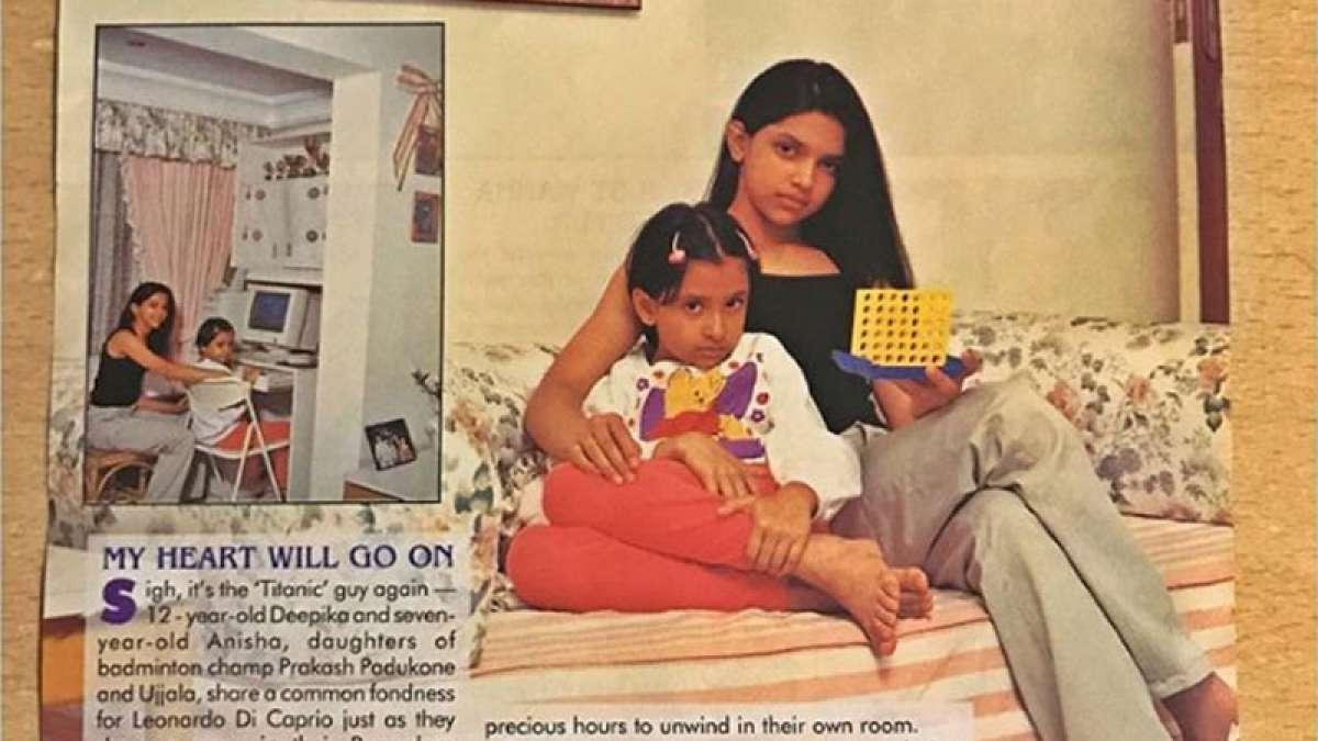 Deepika Padukone with her sister