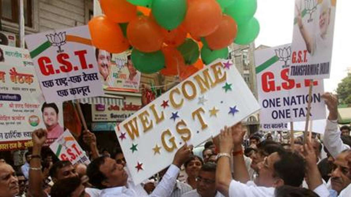 Handshakes, Cheer, Joy fill Parliament as GST rolls out