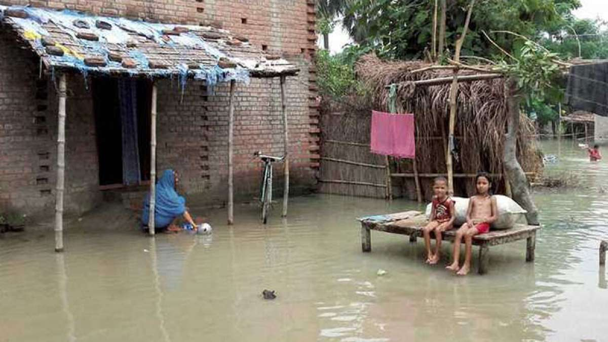 The flood situation in Assam continues to be grim with over 3.5 lakh people remaining affected in 13 districts
