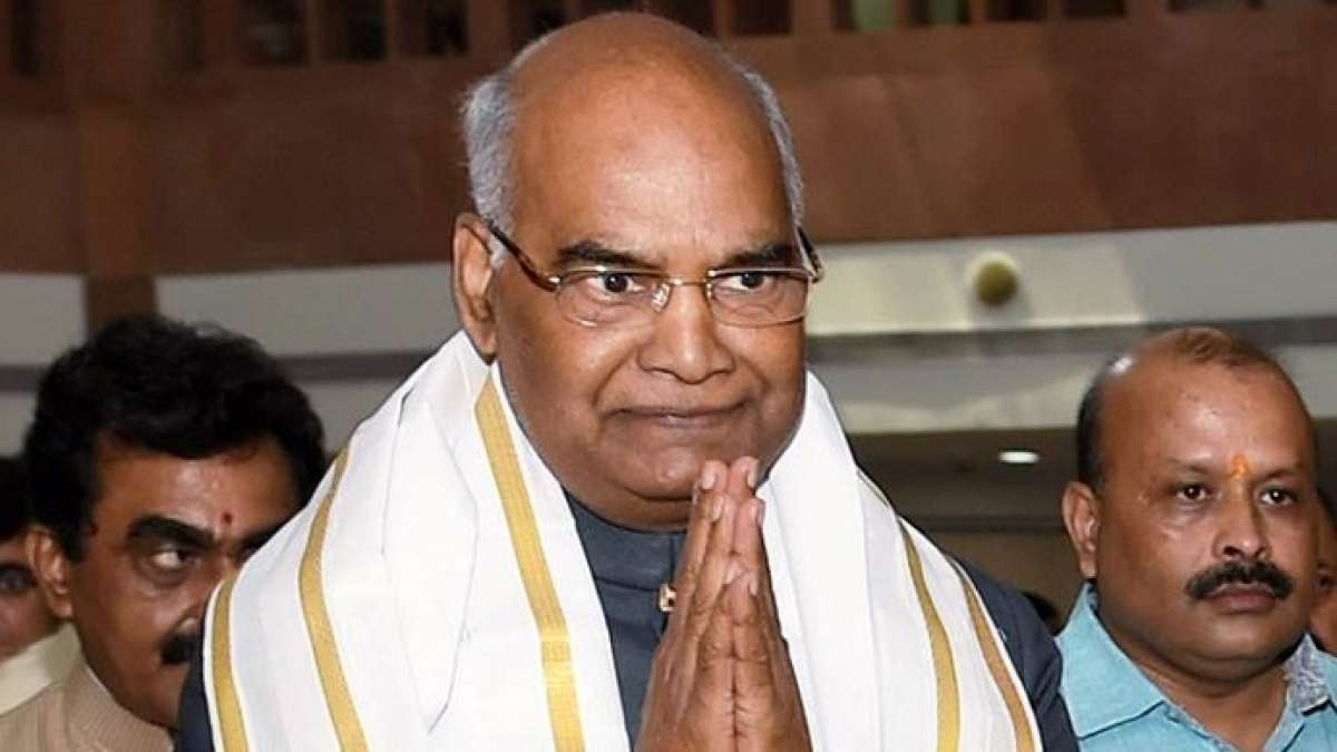 Ram Nath Kovind began his campaign in Telugu states of Telangana and Andhra Pradesh