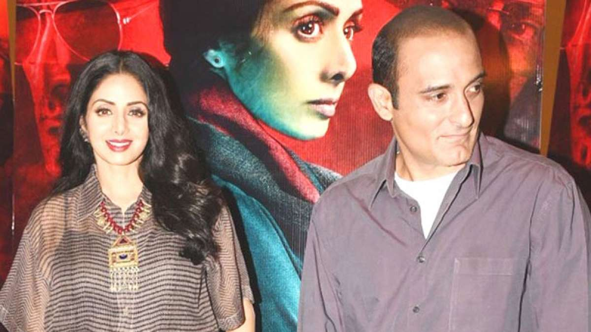 Never imagined I'd work with Akshaye Khanna: Sridevi
