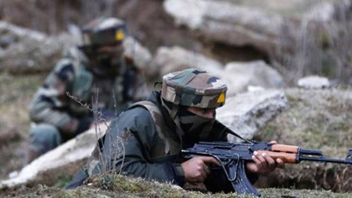 Three militants killed when the Indian Army foiled an infiltration bid on LoC