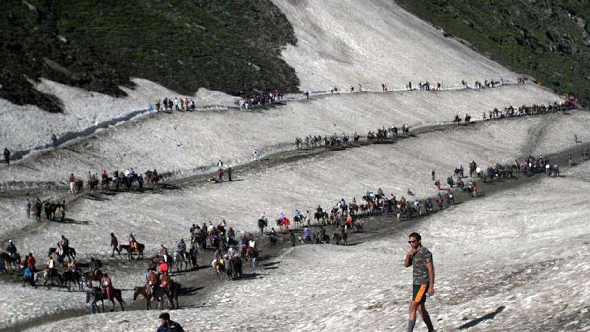 Two women of Amarnath Yatra pilgrims killed in a Kashmir terror attack were from Maharashtra and Gujarat