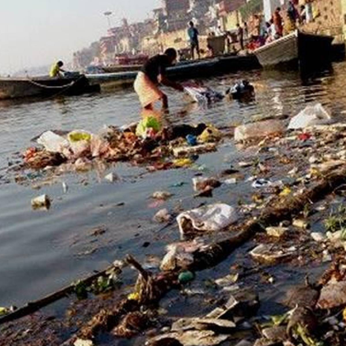 INR 50,000 penalty for dumping waste in or near river Ganga