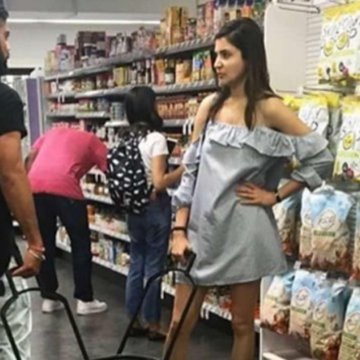 IN PICS: Virushka go for grocery shopping in New York