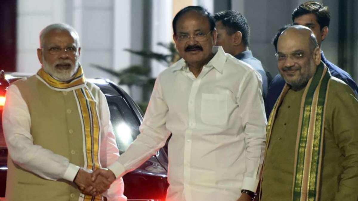 BJP Vice Presidential Candidate Venkaiah Naidu