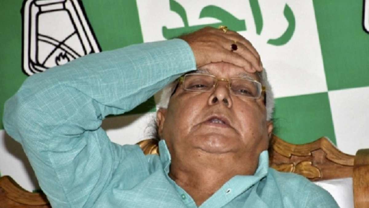 Lalu Prasad alleged Nitish Kumar had conspired with BJP