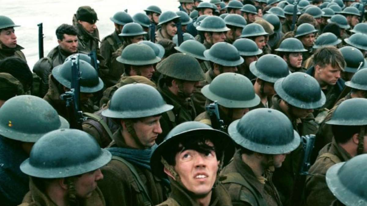 Mark Rylance says that he and his co-stars were not allowed chairs and water bottles on the set of Dunkirk