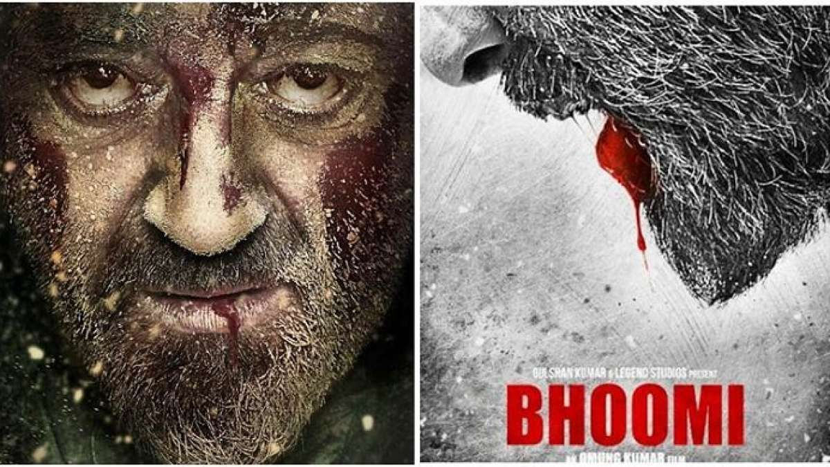 Sanjay Dutt shared a gritty and intriguing poster of his upcoming film Bhoomi