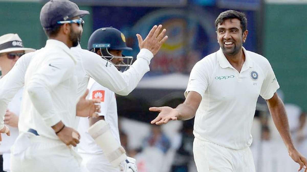 R Ashwin rocks against Sri Lanka with five wickets