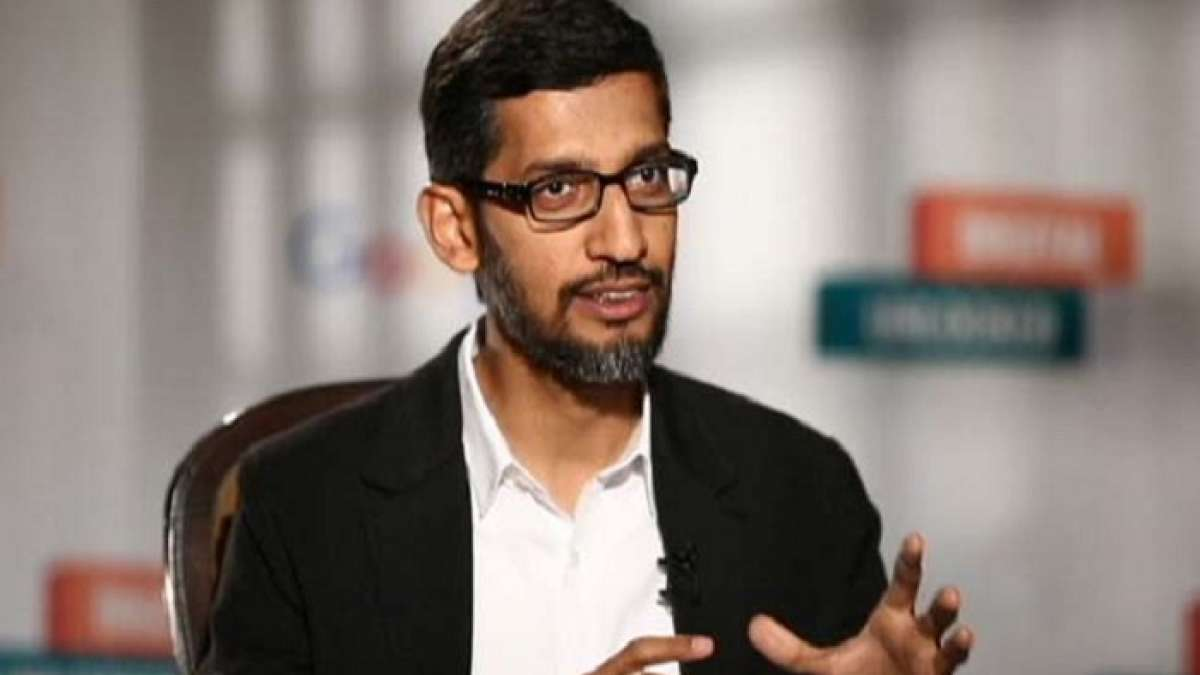 Sundar Pichai finally addressed a coding event for girls on the campu