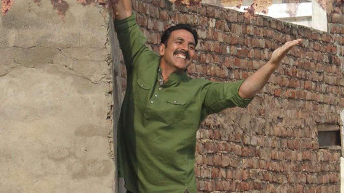 Akshay Kumar in a still from Toilet: Ek Prem Katha