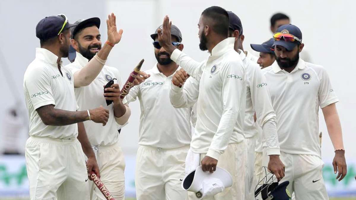India vs Sri Lanka Test Series