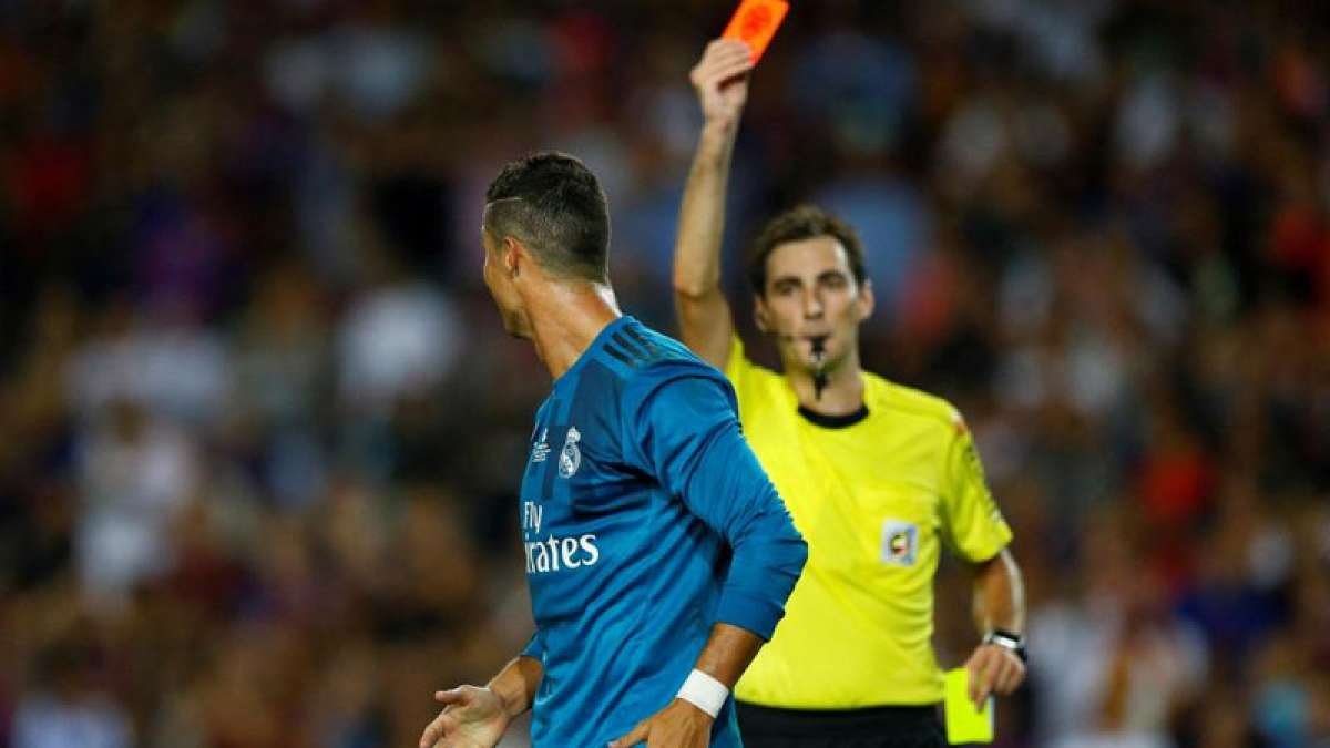 Cristiano Ronaldo banned for five games