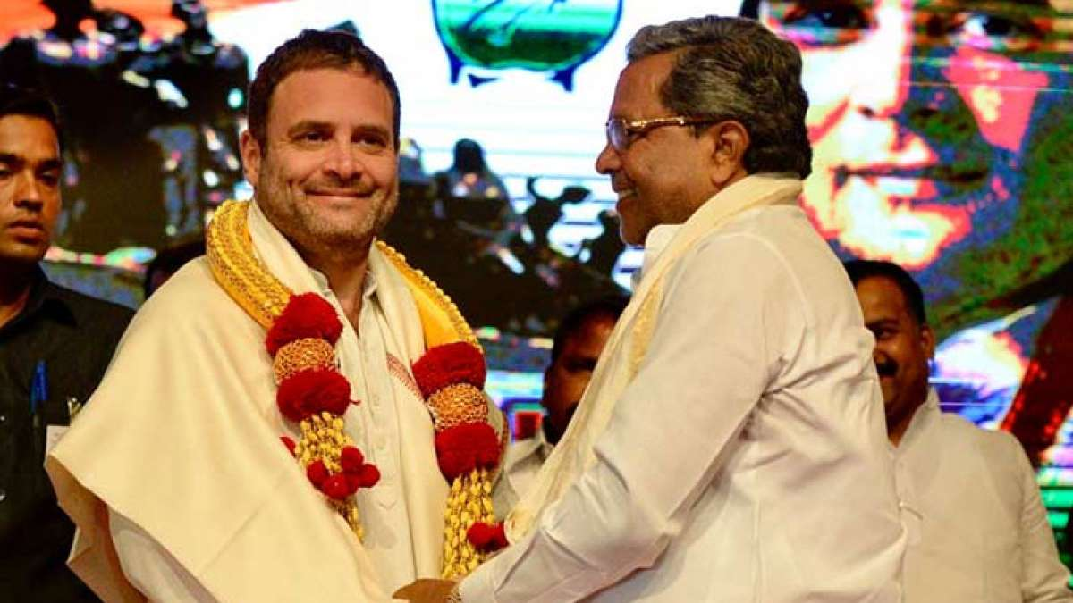 Rahul Gandhi launches Indira Canteen