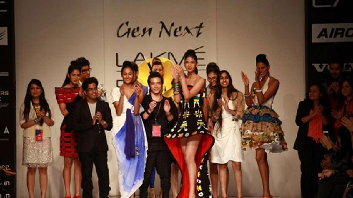 Sumiran Kabir Sharma at LFW, displayed a lineup of beautiful dresses