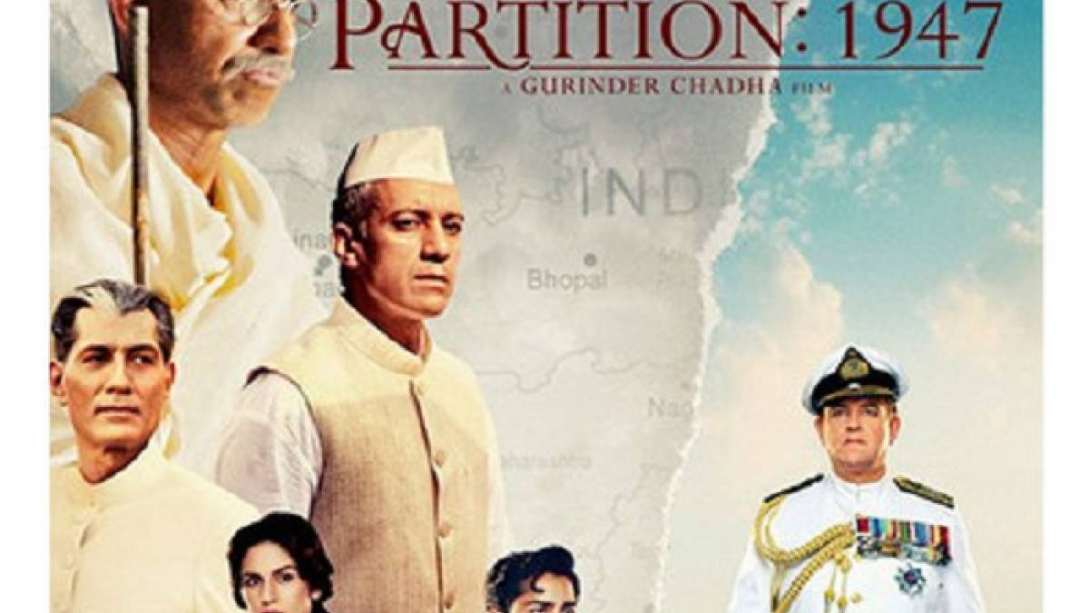 Partition: 1947 has been banned from releasing in Pakistan
