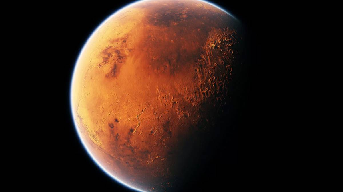 NASA finds porous crust on Mars, to study structure of red planet