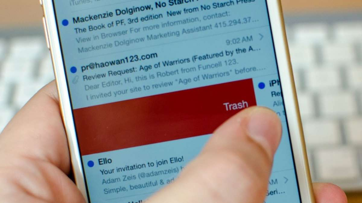 Swiping to archive is now different on Gmail