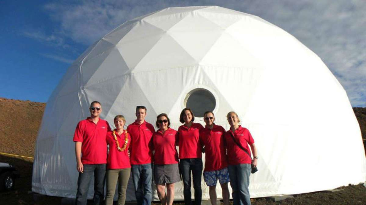 Six NASA scientists emerge out from Mars-like habitat after 8 months