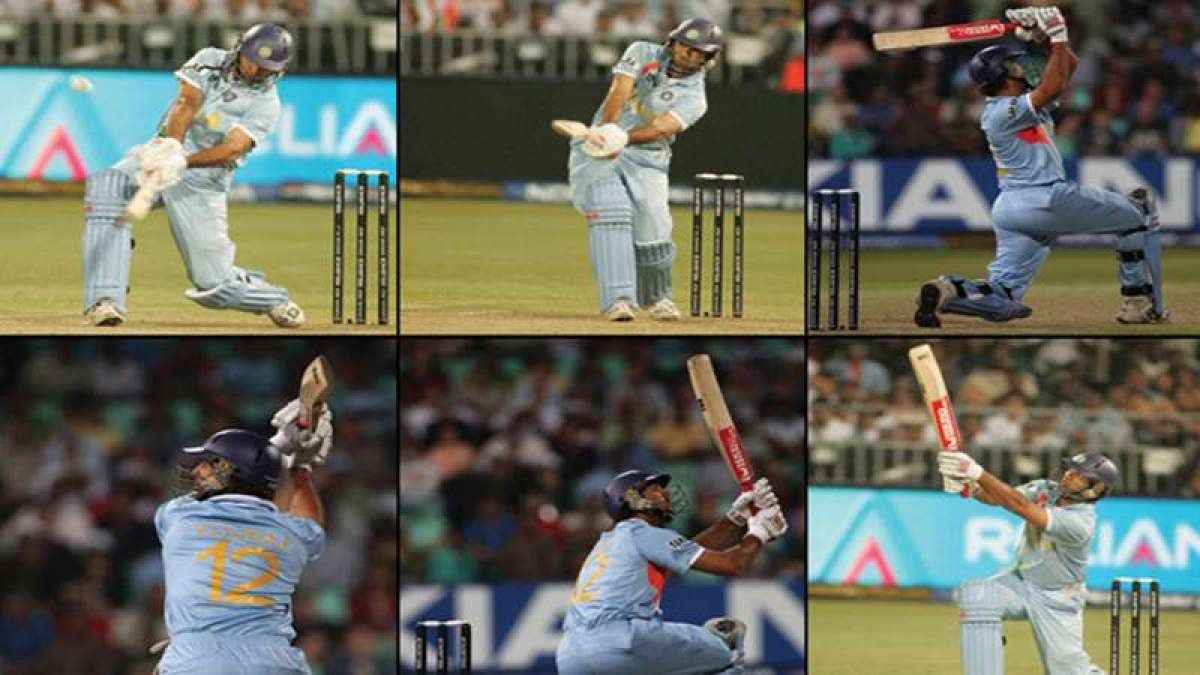 Yuvraj Singh's six sixes to Stuart Broad in T20 World Cup