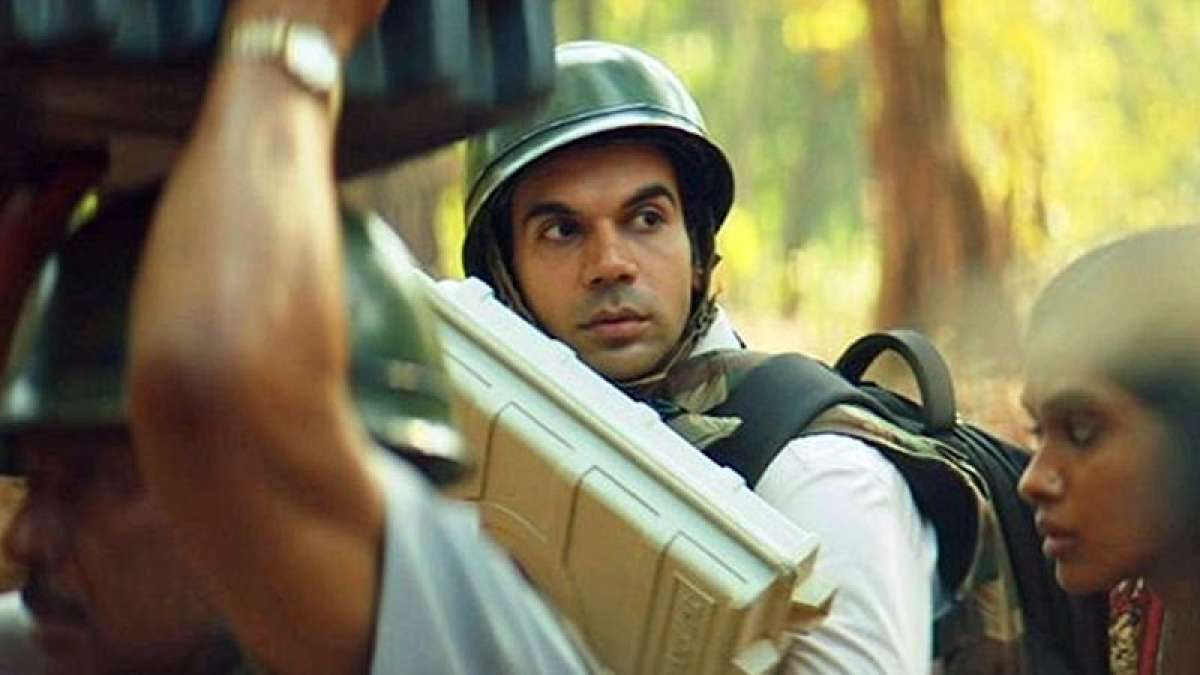 Rajkummar Rao in Newton movie
