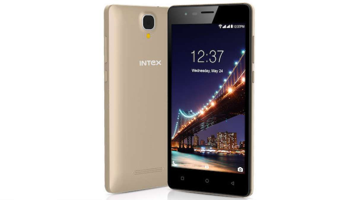 Intex Aqua Lions 2 smartphone with Android Nougat 7.0 launched at Rs 4,599