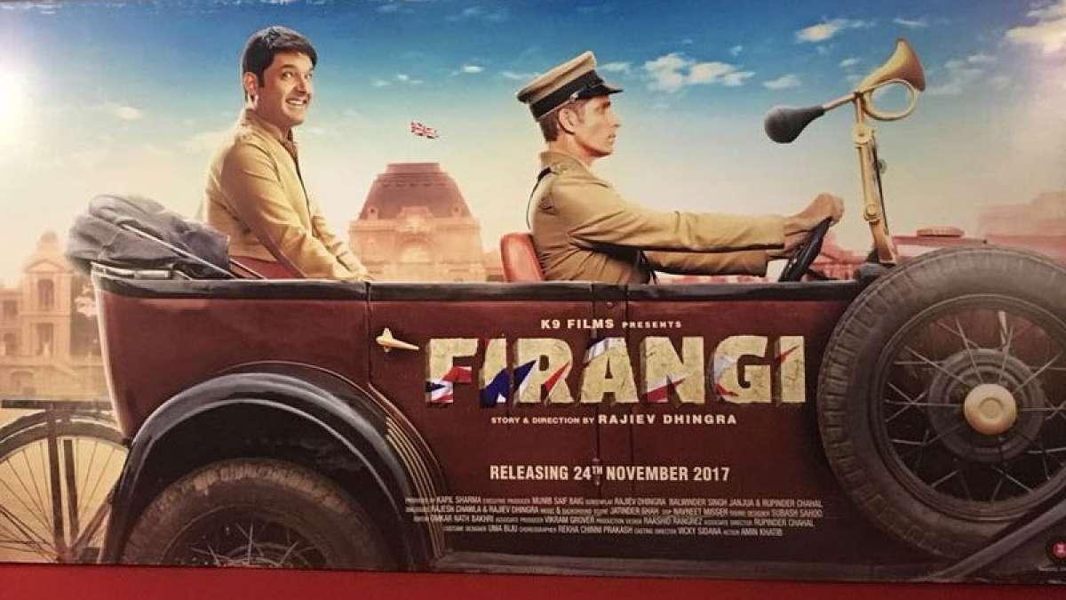 Kapil Sharma's 'Firangi' movie trailer released