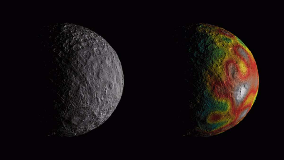 NASA's Dawn spacecraft finds traces of liquid ocean on dwarf planet Ceres
