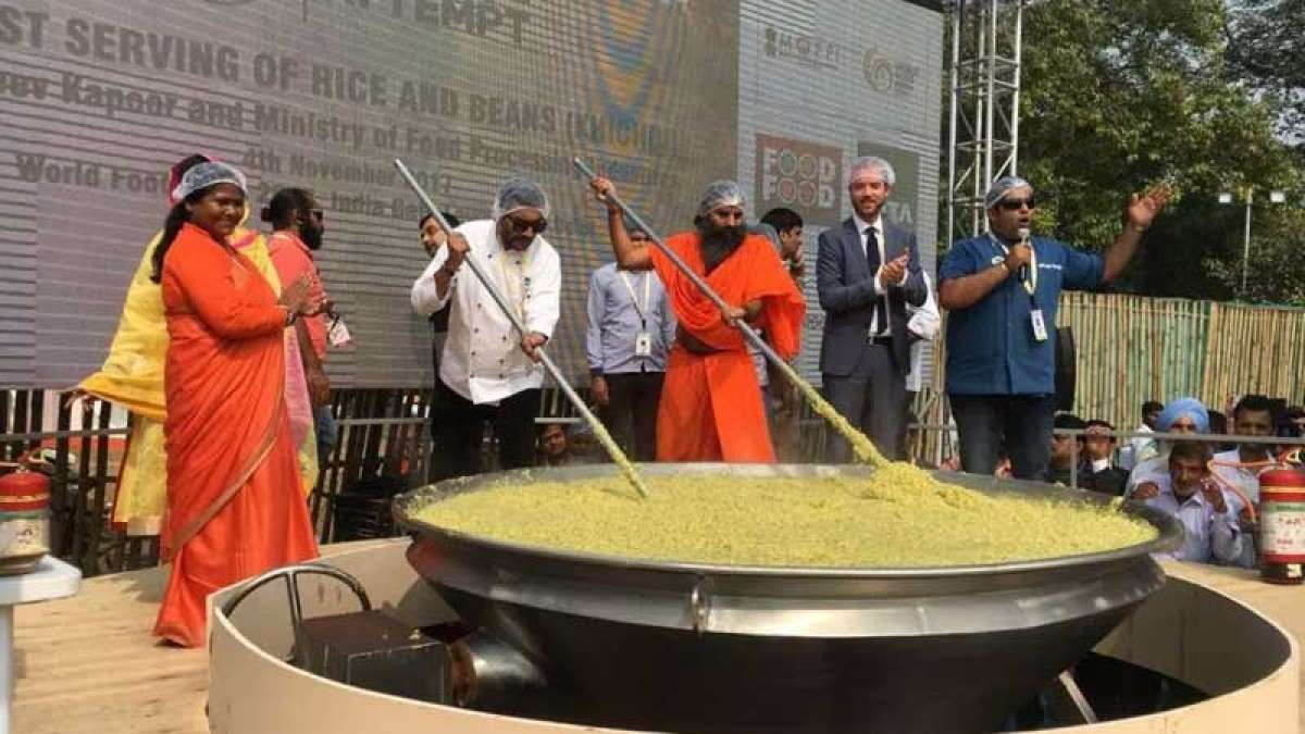 World Food India 2017: Brand India 'khichdi' enters Guinness World Records