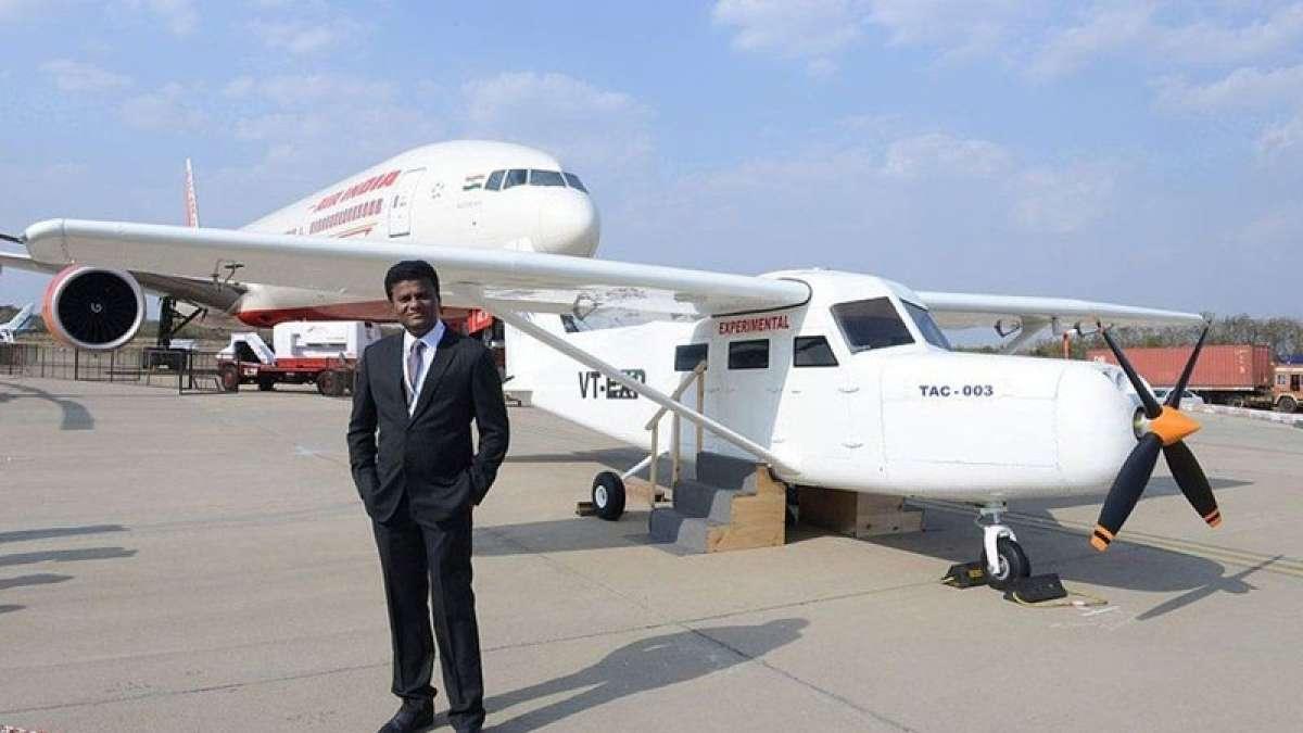 Aircraft built on Mumbai building terrace, ready to soar