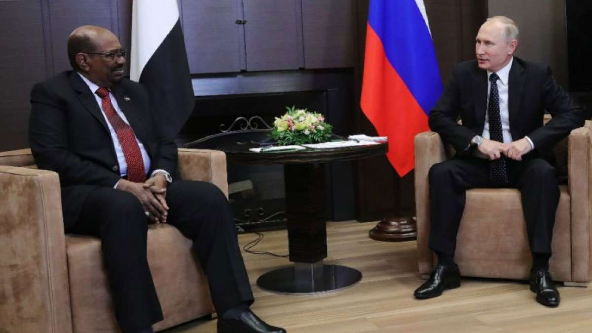 Sudan asks Putin for protection from US
