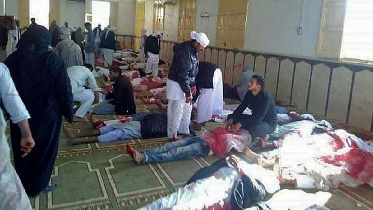 Egypt Mosque Attack: At least 235 killed in bomb blast, gunfire