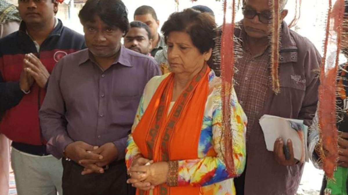 Bharatiya Janata Party leader Sanyukta Bhatia