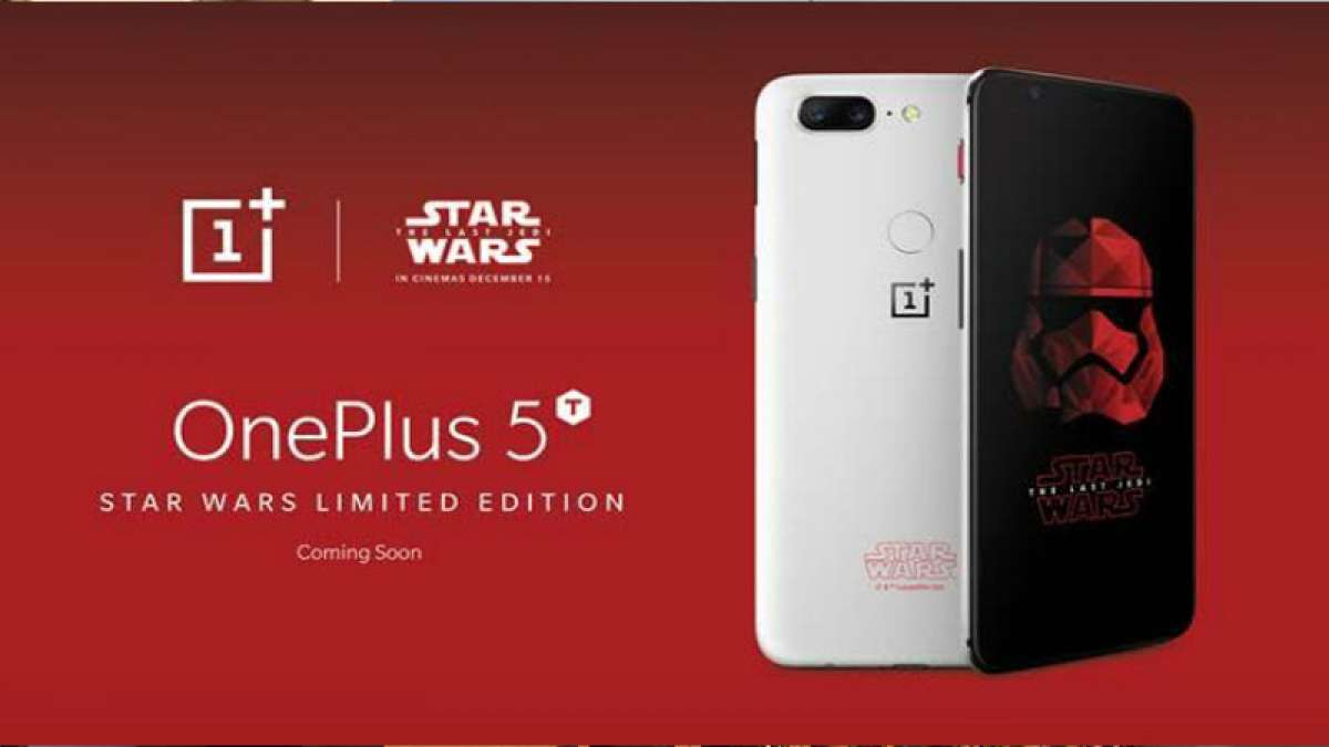 OnePlus 5T Star Wars edition to be launched exclusively in India