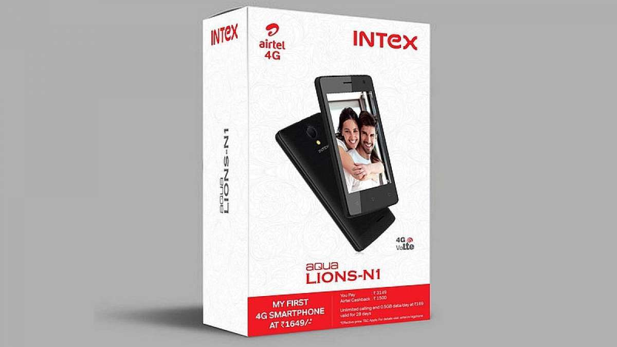 Airtel joins hands with Intex to launch cheaper 4G smartphones at 1,649