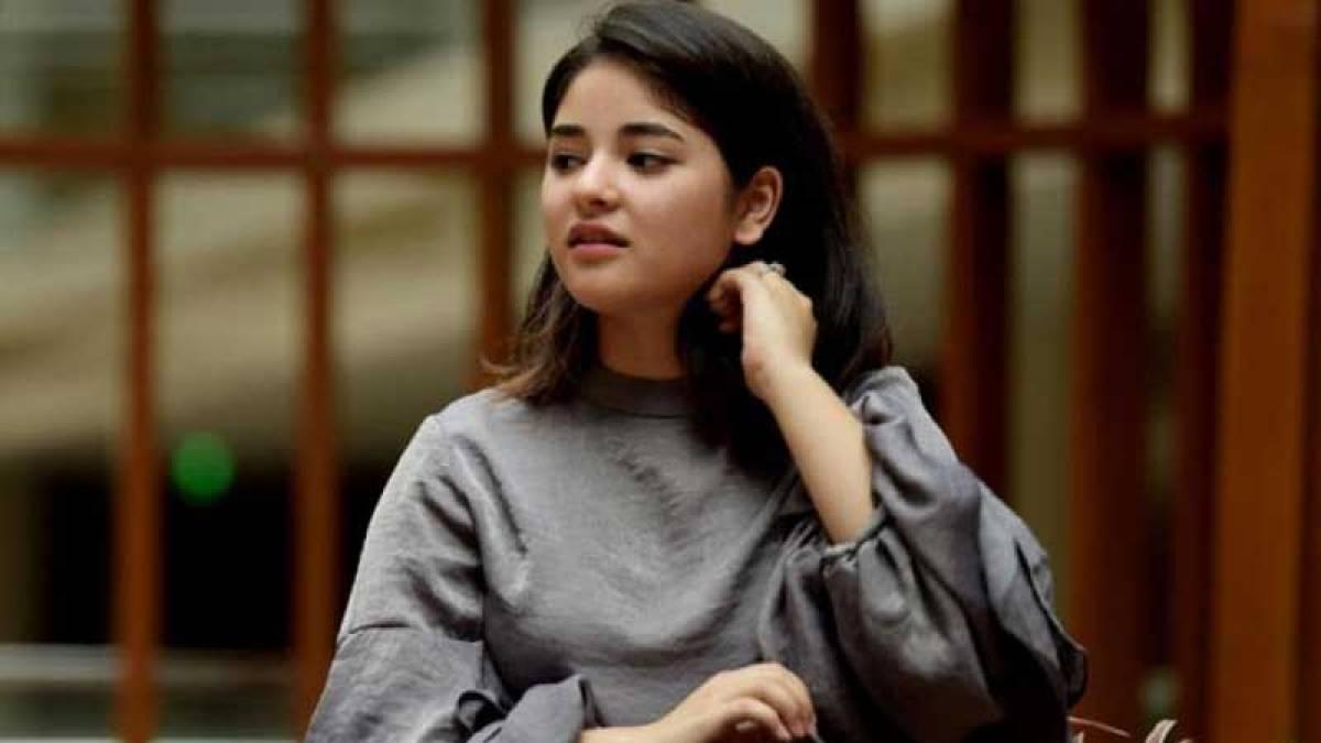 Actress Zaira alleges mid-air molestation, case filed
