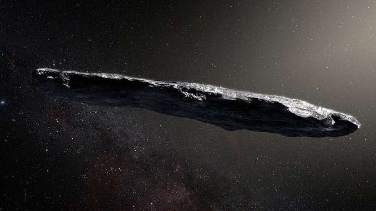 Oumuamua - first ever interstellar body in our solar system, a possible alien technology