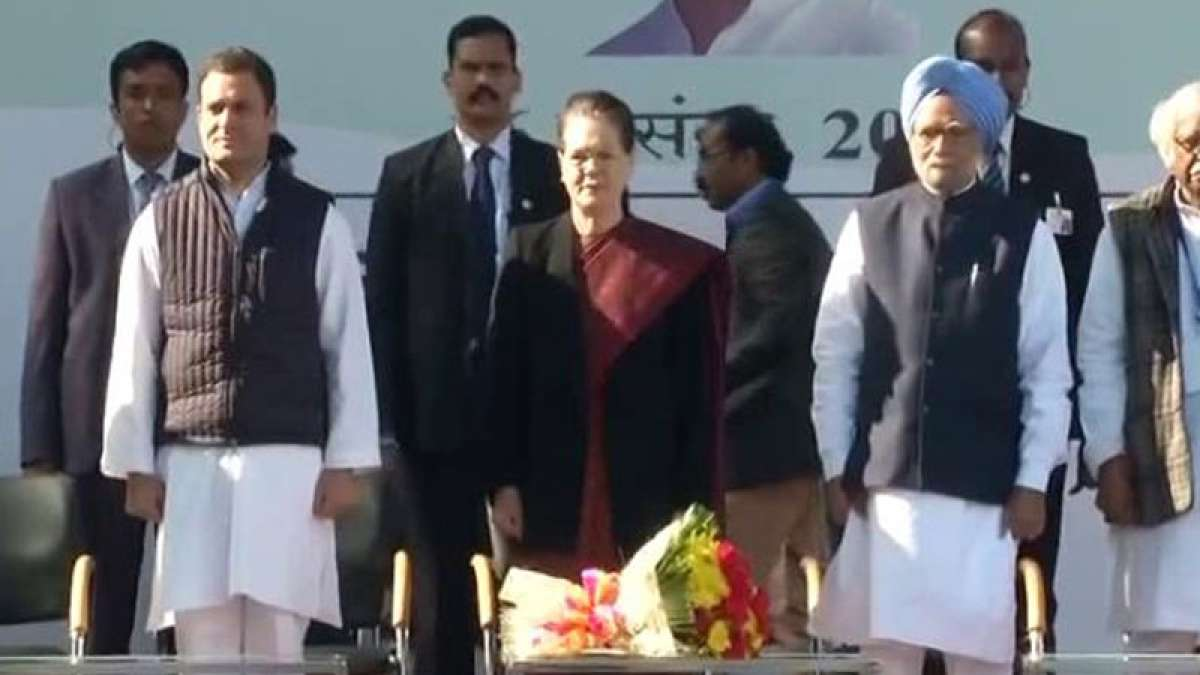 Rahul Gandhi formally takes over as Congress chief