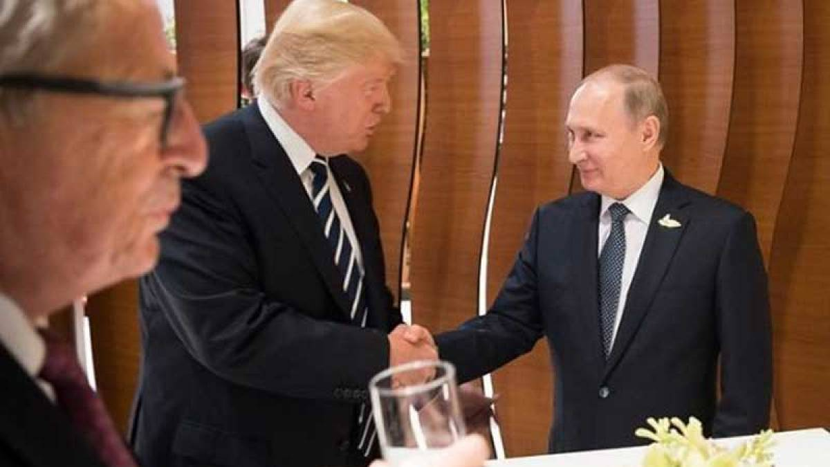 Putin calls Trump to thank CIA for sharing terrorist info