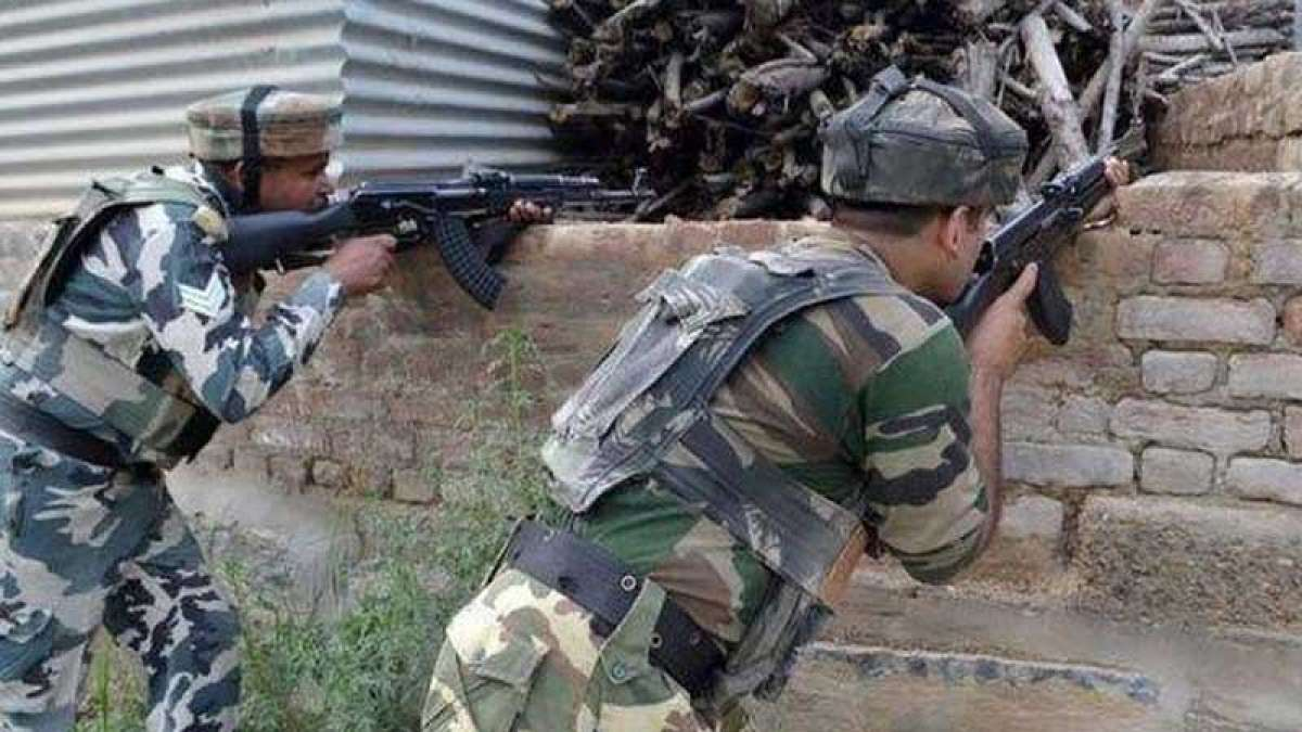 Two militants killed in Shopian district gunfight