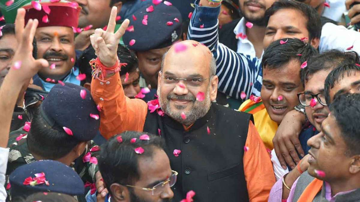 Victory of developmental politics over dynasty: Amit Shah
